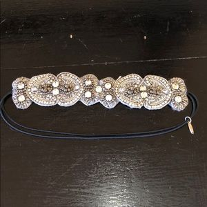 Pink Pewter Accessories - Jeweled Headband
